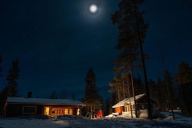 Aurora Party In Santa´s Cottage