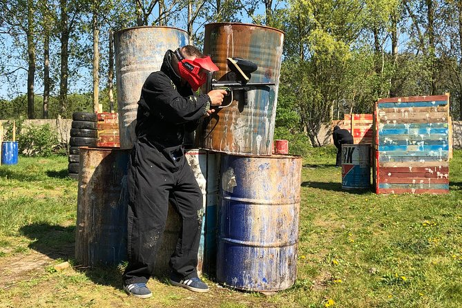 Paintball activity