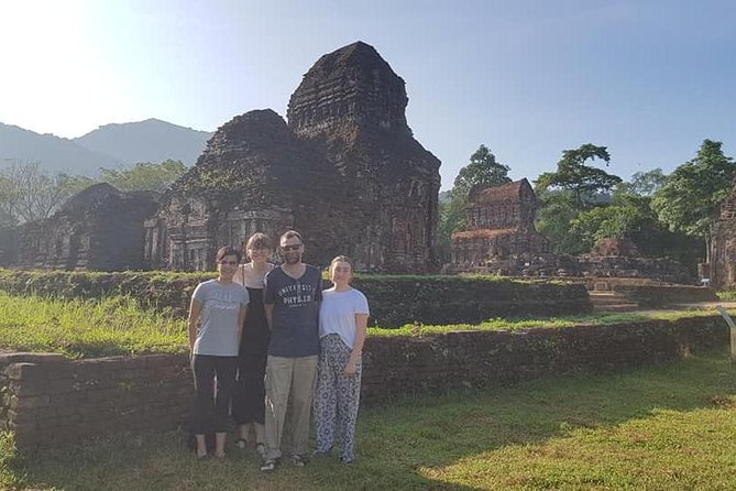 My Son Sanctuary Tour by Car & Hoi An Countryside Tour by Bicycle in One Day