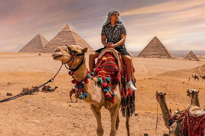 Private Tour to Giza Pyramids , Sphinx , Valley temple , with Camel Ride