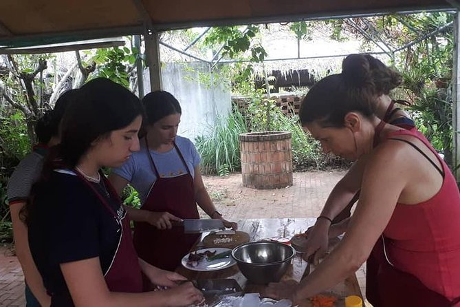 Hoi An Farming & Cooking Tour with Herbal Foot Massage from Da Nang or Hoi An