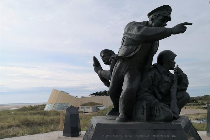 Utah Beach, Sainte Mère Eglise, American Cemetery -Day trip from Paris (3/6 pax)