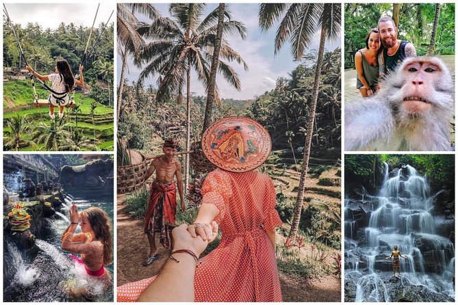 Best of Ubud - Jungle Swing - Monkey Forest - Holly Spring Temple - Kanto Lampo