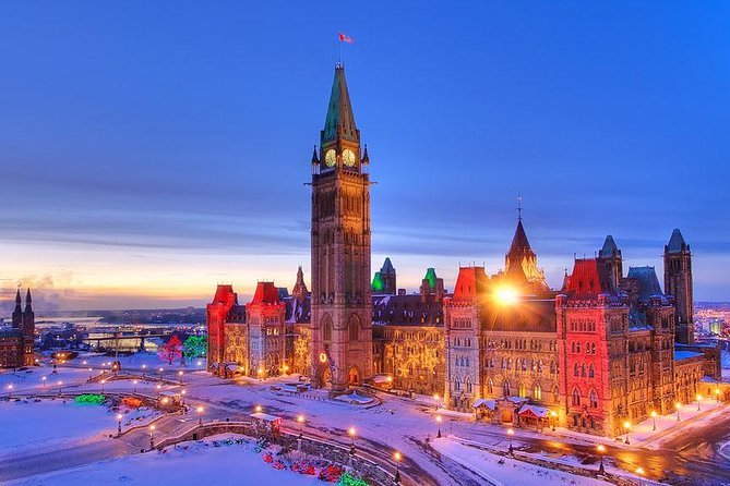 Ottawa – Canada Capital City VIP Day Trip (Winter Program)