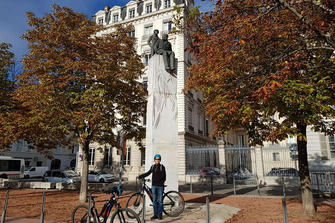 Lyon New & Old Town E-Bike Small Group Adventure Guided Tour