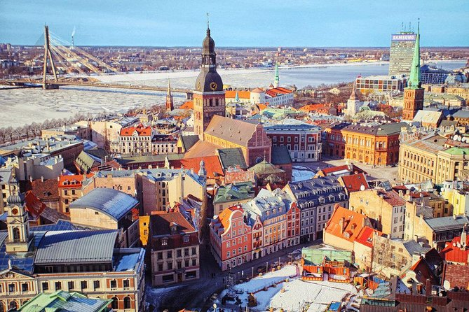 Riga sightseeing tour