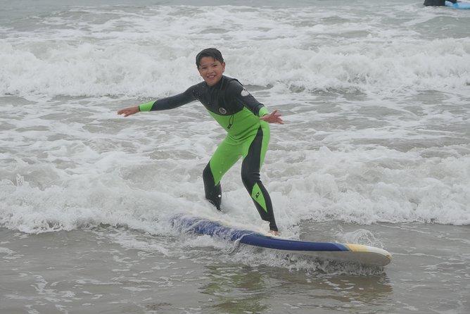 SURF LESSON for kids