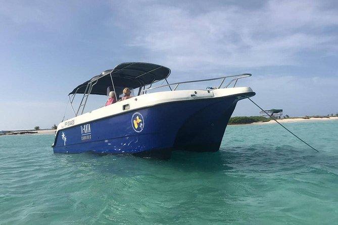 Croisière à la Journée en petit comité (Ilet caret, mangrove, barrière de corail