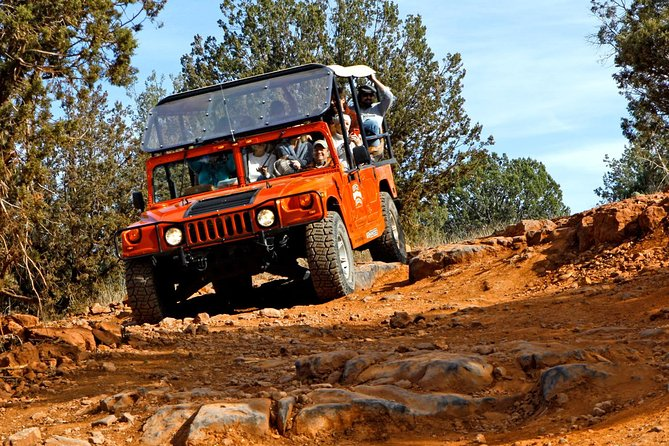 Colorado Plateau Ascent: Guided Hummer Tour in Sedona