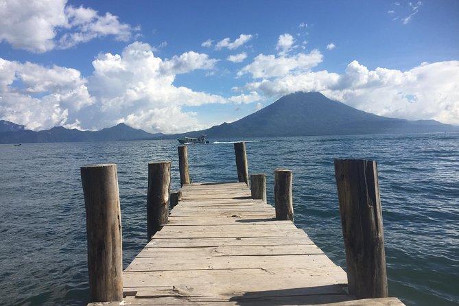 Shared shuttle - Antigua to/from San Pedro/San Marcos La Laguna (Lake Atitlan)