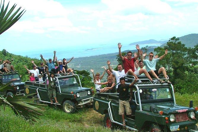 Koh Samui Mountain Adventure Tour