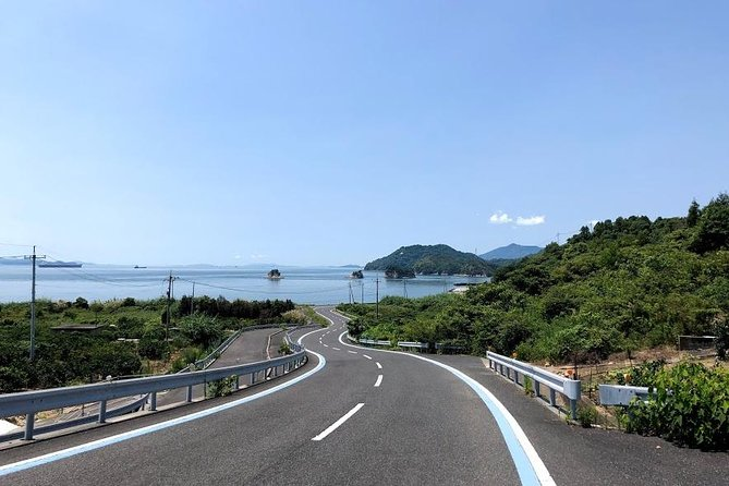 Enjoy the whole Omishima cycling