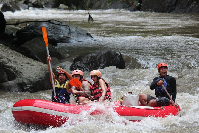 Incredible Fun Rafting at The Best River Ubud