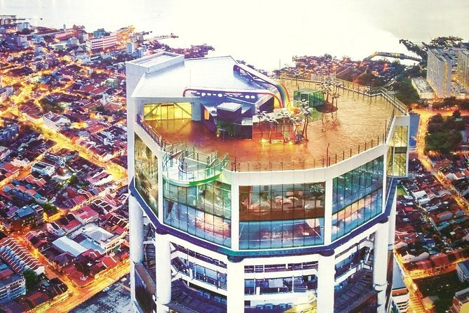 THE TOP Komtar Penang Admission Ticket with Rainbow Skywalk