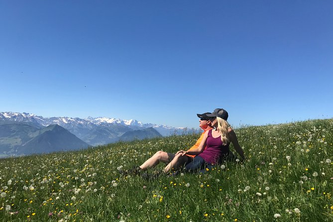 Private Full-day Guided Hike from Lucerne