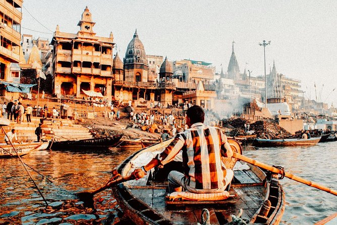 Boat ride on the Ganges to Ramnagar fort with Transfers