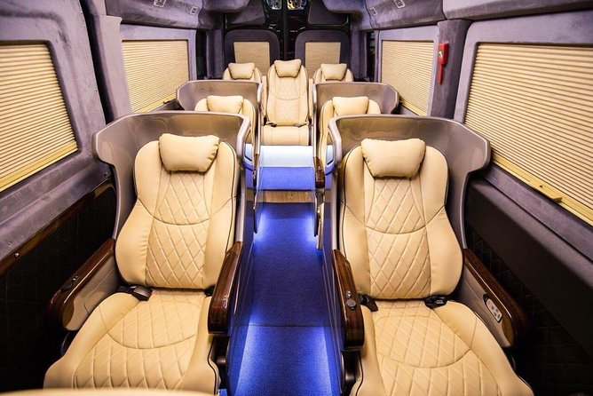 Luxury private car from Noi Bai airport or Hanoi to Halong