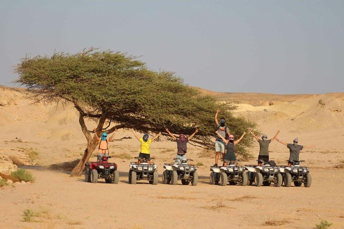 Morning Quad Bike Desert Safari Marsa Alam