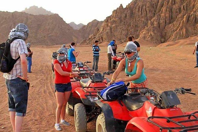 Sunset Desert Safari Excursions Quad Marsa Alam
