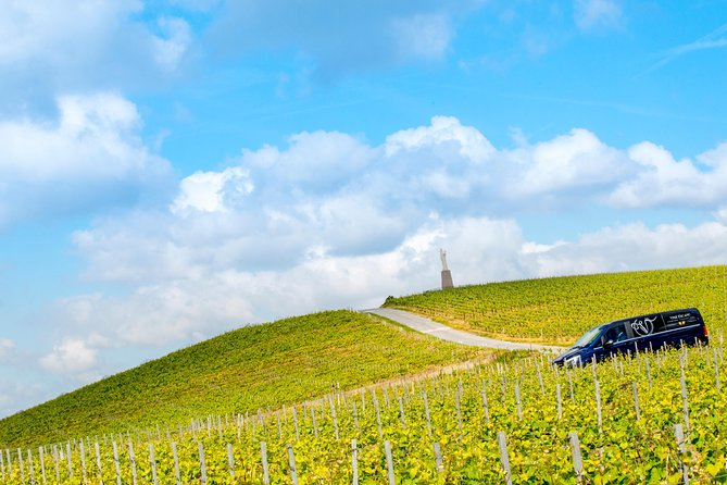 Champagne Region Private Minivan Day Tour with Driver Guide at Disposal