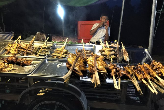 Angkor Food Tour By Motorcycle