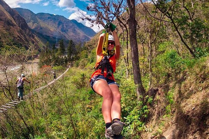 Zipline in Chinchero