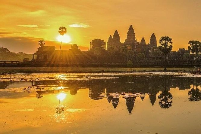 Unique Angkor Sunrise by Military Jeep photo 1