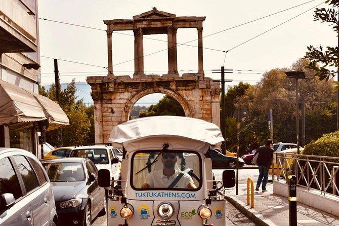 Tuk Tuk Athens Complete City Center Tour - 100% Electric (3 hours)