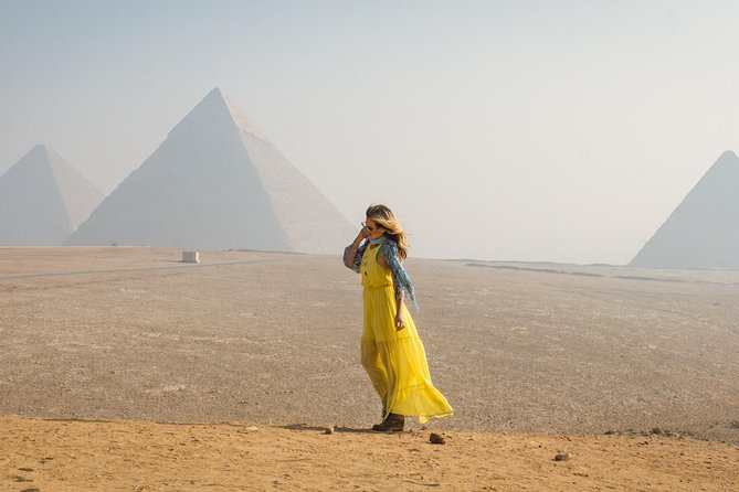 Camel Ride or Horse around the Pyramids