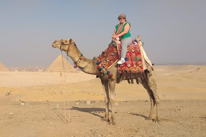 Best Private Tour to the Pyramids,Egyptian Museum & Bazaar& Camel Ride and Lunch