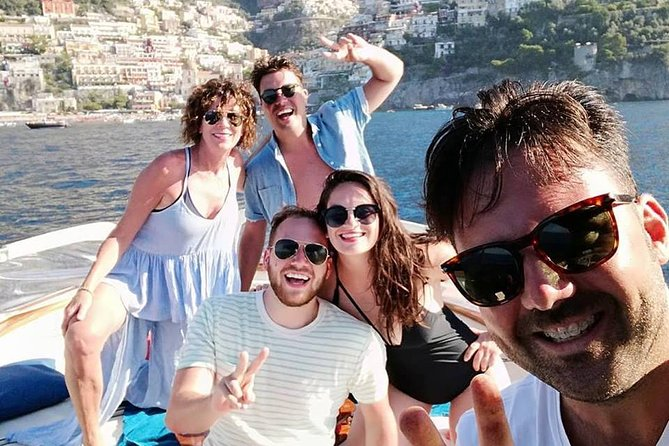 Amalfi and Positano Private boat tour (7/8 hours) from Sorrento