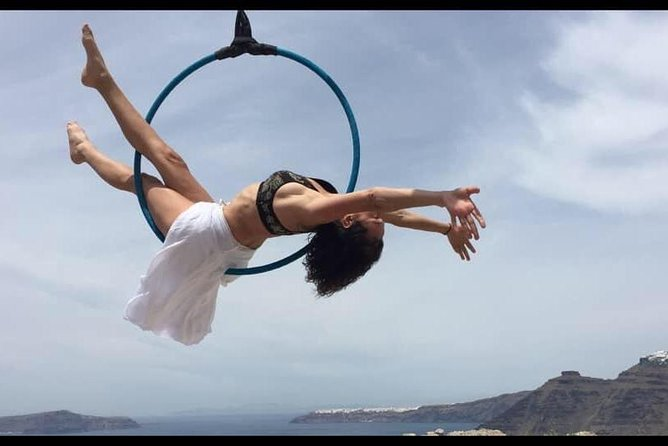 Hatha Yoga, Pilates, Aerial Hoop, Aerial Yoga sessions. Stunning view.