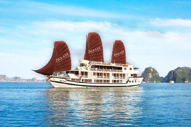 Halong Cruise - Aclass Stellar Cruise 2 Days 1 Night( 4 star cruise)