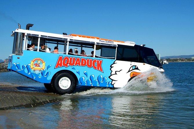 Aquaduck Gold Coast 1 hour City and River Tour
