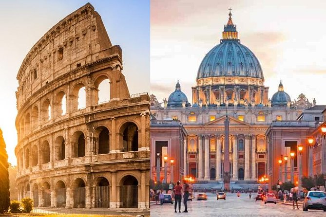 Skip the Line: COMBO - Colosseum + Vatican Museums Entrance Tickets+Audioguide