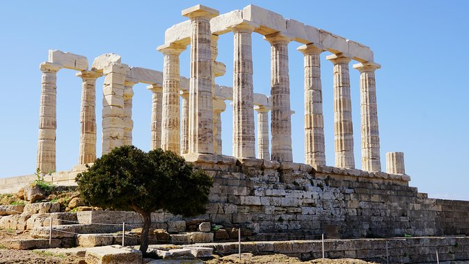 Cape Sounio Temple of Poseidon Half Day Private Tour