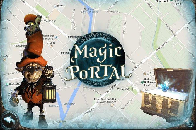 Malaga city game: Magic Portal