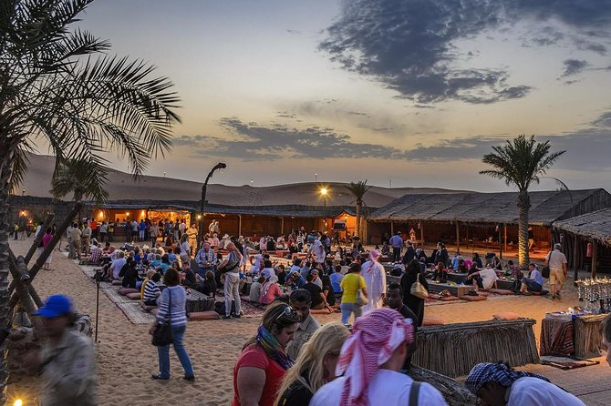 Private Red Dune Safari with Sandboarding, Camel Ride & BBQ Options