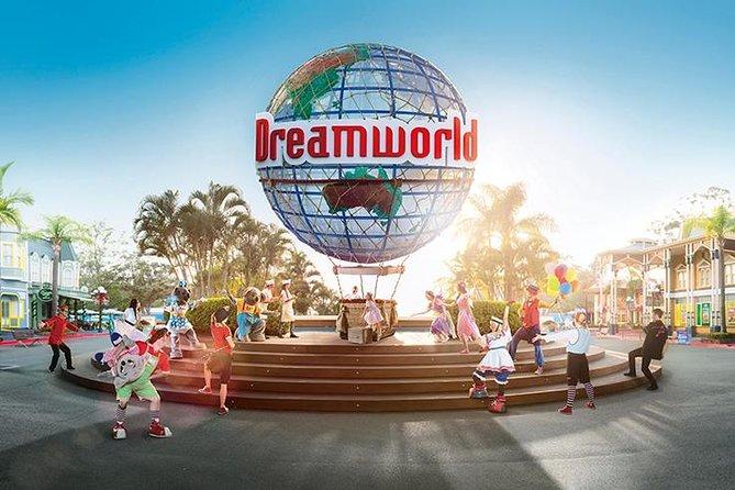 Dreamworld Theme Park with Brisbane Hotel Transfers