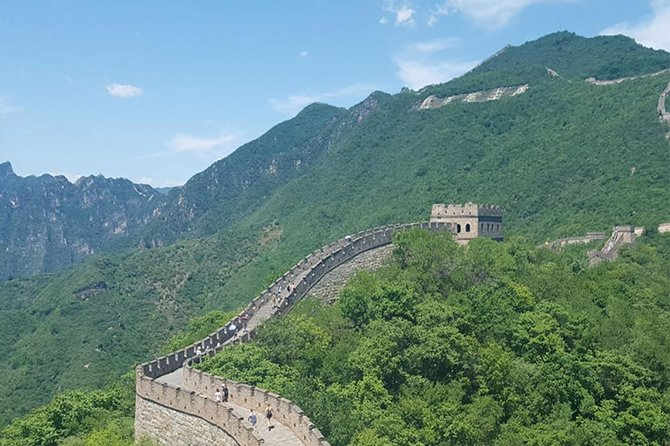 2-Day Mutianyu Great Wall & Beijing City Group Tour Package + Airport Transfer