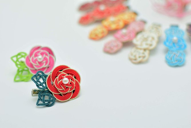 You can make original accessories using Mizuhiki!!Experience Kanazawa culture!