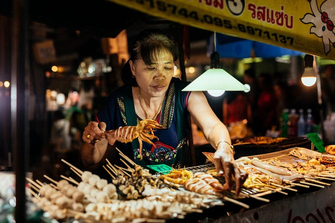Bangkok's Latest Food Craze: Evening Tastings Tour for up to 8 Guests