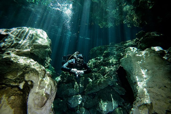 Try dive in cenote
