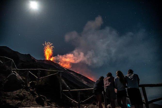Aeolian islands-Etna volcanoes Tour: 7 nights Fire & Sea