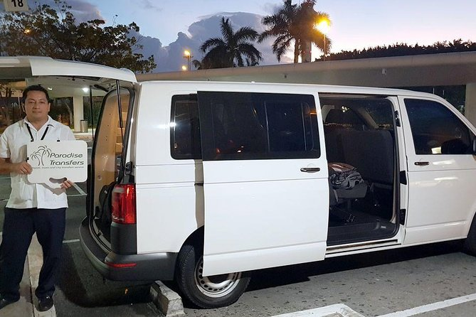One Way Transfer to/from Cancun Airport to Akumal Zone up to 7 passengers