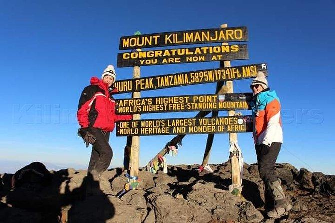 8Day-Kilimanjaro climb Machame Route.