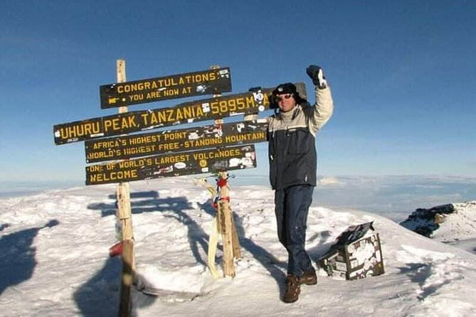 6 Days- Kilimanjaro climb via Marangu Route.