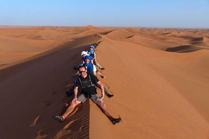 3 Days Desert Tour From Marrakech To Merzouga Dunes & Camel Ride