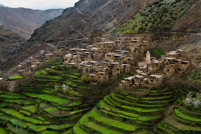 Atlas Mountains and Three Valleys & Waterfalls Full Day Trip from Marrakech