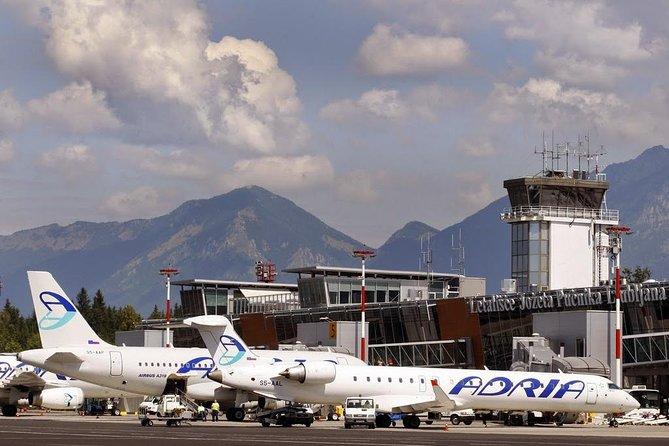 Ljubljana Airport authorized transfer. Price per car.